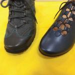 靴の履き分け・・・
