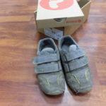 「靴買いに来た・・!」