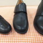 *夏に黒靴も良いかも?*