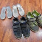 靴でサポートしたら・・・